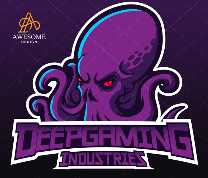 Deep Gaming Industries Logo