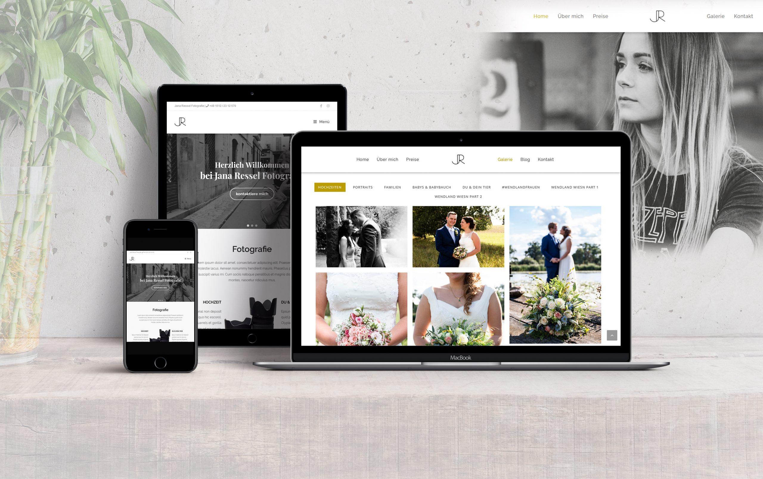 Webdesign Jana Ressel Fotografie - Awesome Design - Webdesign