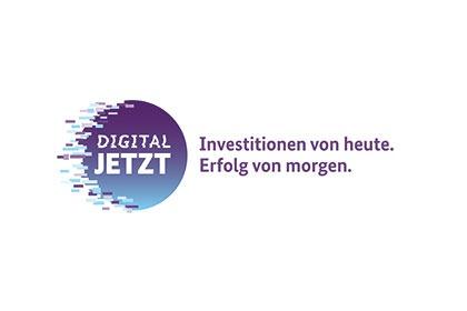 Digital Jetzt - Förderung vom Bundesministerium für Wirtschaft und Energie